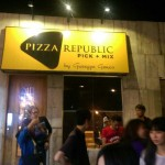 宿霧美食Pizza Republic專屬口味的Pizza!!