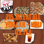 超~高CP值的NYPD Pizza & Pasta Buffet!!!