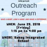 [Community Outreach Program]六月志工活動