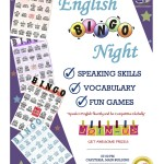【3D 13th English Activity】English Bingo Night!