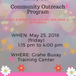 [Community Outreach Program]五月志工活動